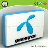 Pared de la venta directa de la fábrica que monta la muestra al aire libre impermeable del LED Lightbox