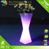 Colore di potere di fiore che cambia il POT della pianta del LED