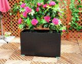 Мебель ротанга PE шкафа цветочного горшка ротанга PE