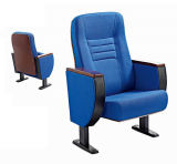Chaise de salle à manger en tissu de chaise d'auditorium de salle d'école (HX-HT066)
