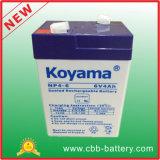 6V4ah SLA UPS Standby Battery, SLA Batterie / Accumulateur