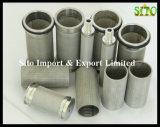 Фильтры ячеистой сети Sainless/цилиндр стрейнера сплетенные сталью
