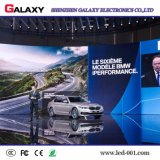 Buena calidad del panel/de la pared/de la muestra video de interior del alquiler LED de P3/P4/P5/P6 RGB para la demostración, etapa, conferencia