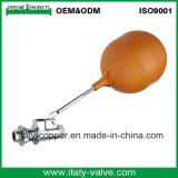 Valvola a sfera d'ottone del galleggiante di qualità europea (AV5021)