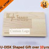 Cadeaux promotionnels USB pivotant en bois Pendrive (YT-3132) de meubles