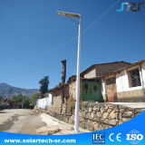 Wasserdichtes IP66 Dimmable PFEILER Baugruppen-Bewegungs-Fühler-integriertes Solargarten-Straßenlaterne
