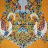 De manier drukte Sjaal van de Hand van 100% de Acryl Vlakke Bed Afgedrukte af