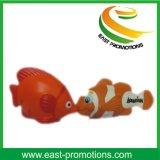 Bille anti-stress de diverse de poissons de cadeau de promotion de modèle mousse d'unité centrale
