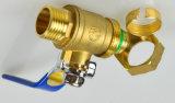 Válvula de esfera de bronze feita sob encomenda profissional