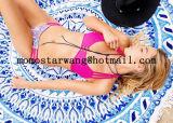 Impreso alrededor de la toalla de playa del círculo con de alta calidad