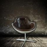 Arne Jacobsen 세계적인 대중적인 금속 가죽 빨간 계란 의자