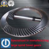 Engranaje cónico 2015 del espiral popular del diseño de la plataforma de perforación del campo petrolífero