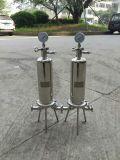 Industrieller Edelstahl-Wasser-Reinigungsapparat-einzelnes Kassetten-Filtergehäuse