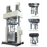 Double mélangeur planétaire pour la production de puate d'étanchéité de silicones