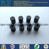 Netter Qualitätszoll CNC, der schwarze anodisierte Aluminiumrod maschinell bearbeitet