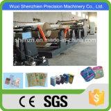 Sgs-anerkannter quadratischer unterer Papierbeutel, der Maschine für Verkauf herstellt