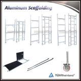 Sistema rampicante dell'armatura di auto di alluminio per costruzione