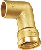 Instalaciones de tuberías de alta calidad de cobre amarillo rectangulares de la cuerda de rosca