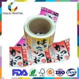 Fabricante de vinilo personalizados Etiquetas autoadhesivas Adhesvie impermeable etiqueta engomada de la aduana