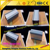 Dissipador de calor de alumínio de Zhonglian para a iluminação do diodo emissor de luz com boa dissipação de calor