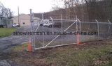 熱い浸された電流を通された一時構築のチェーン・リンクの塀