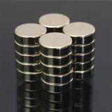 Ni-Cu-Ni Zylinder NdFeB Magnet-Permanente der Beschichtung-N50 starke mit Befolgung
