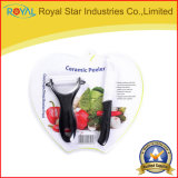 Cucina Knife+Chopping di ceramica stabilito Board+Peeler+Sheath di 3 PCS