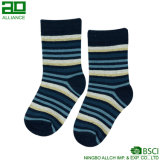Neue Art Stripes Breathable Baby-Socken-Hersteller