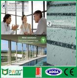 Porte coulissante en aluminium de maison urbaine/porte en verre de glissement avec la norme australienne