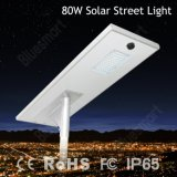 hohe Leistung 80W Outdor wasserdichtes Solar-LED Straßenlaternevon 15W-100W