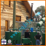 Pirolisi sporca dell'olio per motori di serie di Jnc al distillatore diesel dell'olio residuo