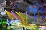 DMX 512のLEDの移動ヘッドビーム軽い段階の照明DJの照明のための明るい段階の多灯形チャネルの明るいコントローラNj-S512