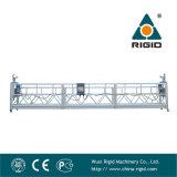 Plate-forme de fonctionnement suspendue électrique d'étrier à vis en aluminium de l'extrémité Zlp800