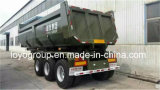 3 dos eixos 40t U da forma de descarga do caminhão reboque Semi