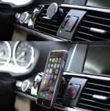 Suporte magnético do telefone móvel de respiradouro de ar do carro