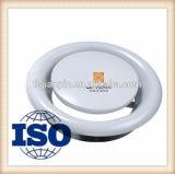 円形の金属ディスク排気弁