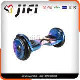 Scooter électrique Hoverboard de deux roues avec le traitement
