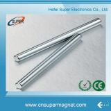 Ímãs de barra fortes materiais magnéticos do Neodymium do cilindro da manufatura