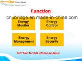 緑の電力エネルギーモニタ
