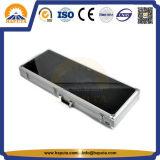 Cassa di trasporto di alluminio della chitarra con il coperchio acrilico (HT-5215)