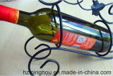De unieke Enige Tribune van de Vertoning van de Wijn van de Houder van de Fles voor het Rek van het Metaal