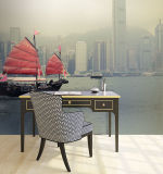Progettare la bella stampa per il cliente delle decorazioni fotografiche murali della carta da parati di alta qualità