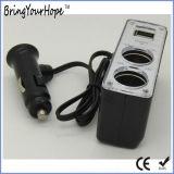 Caricatore doppio doppio dell'automobile della porta della sigaretta del USB (XH-UC-035)