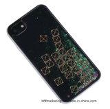 Caixa móvel líquida do telefone de pilha do Glitter do Quicksand novo da chegada para o iPhone