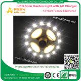 Lampada solare di figura 15W LED della sfera del UFO per illuminazione del giardino del cortile