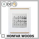Cornice di legno agganciata moderna per la decorazione domestica