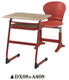 학교를 위한 대중적인 플라스틱 연구 결과 테이블 그리고 의자 고정되는 가구