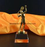 De Trofee van de Toekenning van het Badminton van het Glas van het Kristal van de kwaliteit
