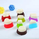 Molde del chocolate del silicón de la categoría alimenticia del regalo FDA de la promoción/bandeja Multi-Shaped del cubo de hielo