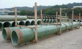 Tubo usado producto químico de la arena de la fibra de vidrio o tubo de Rtrp